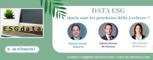 Webinar Data ESG – 99 Advisory & Sequantis