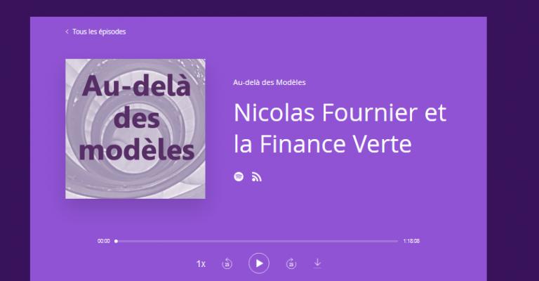 Podcast pour mieux comprendre la Finance Durable